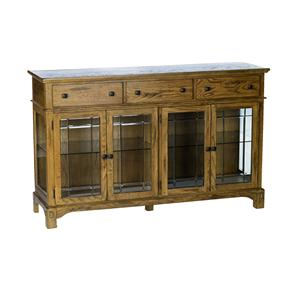 Glass-Front Wide Buffet