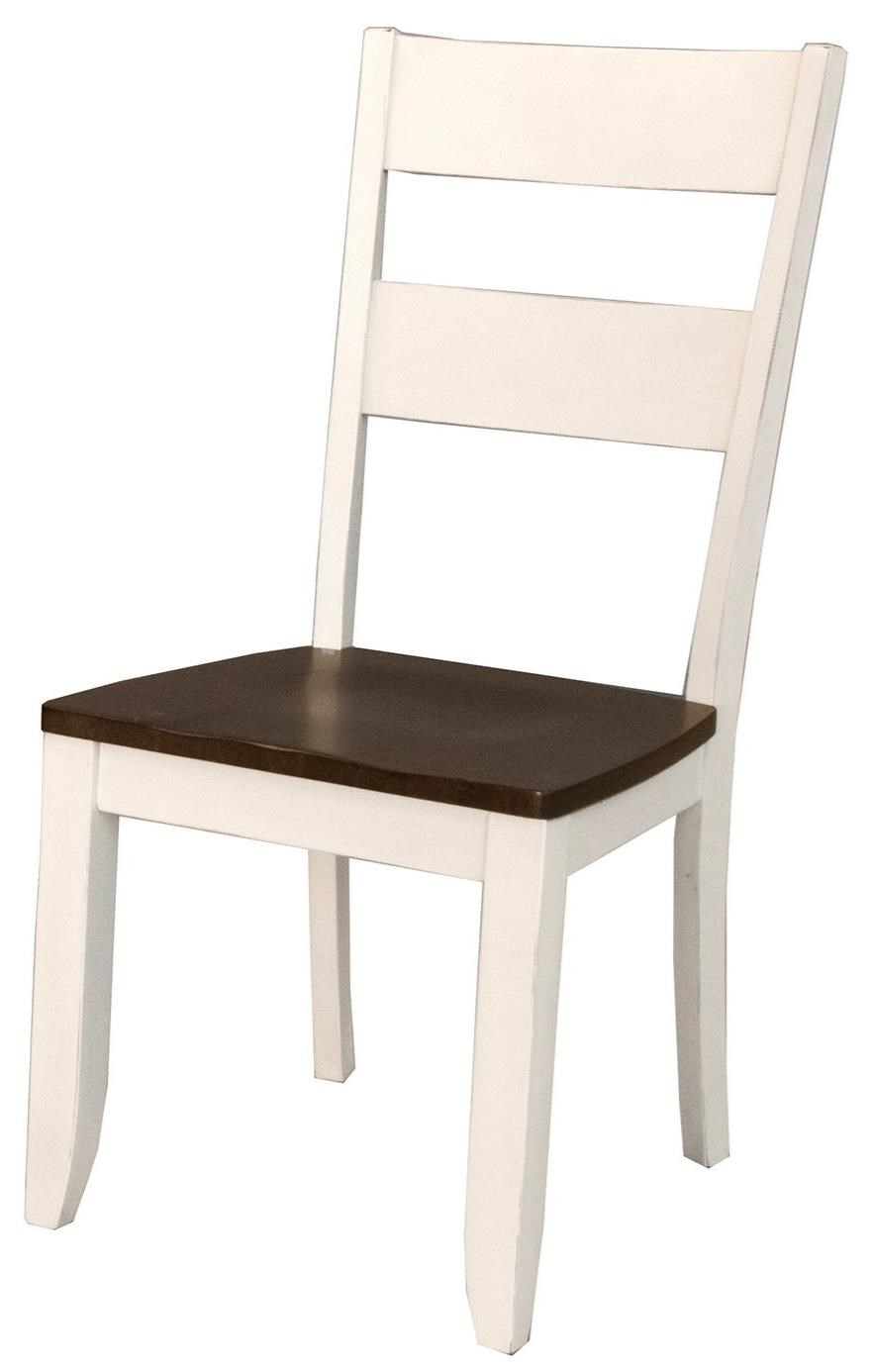 Mariposa Ladderback Side Chair by A-A at Walker's Furniture