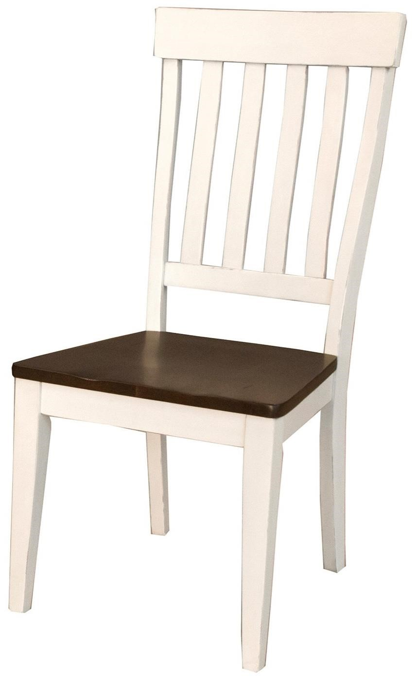 Mariposa Slatback Side Chair by A-A at Walker's Furniture