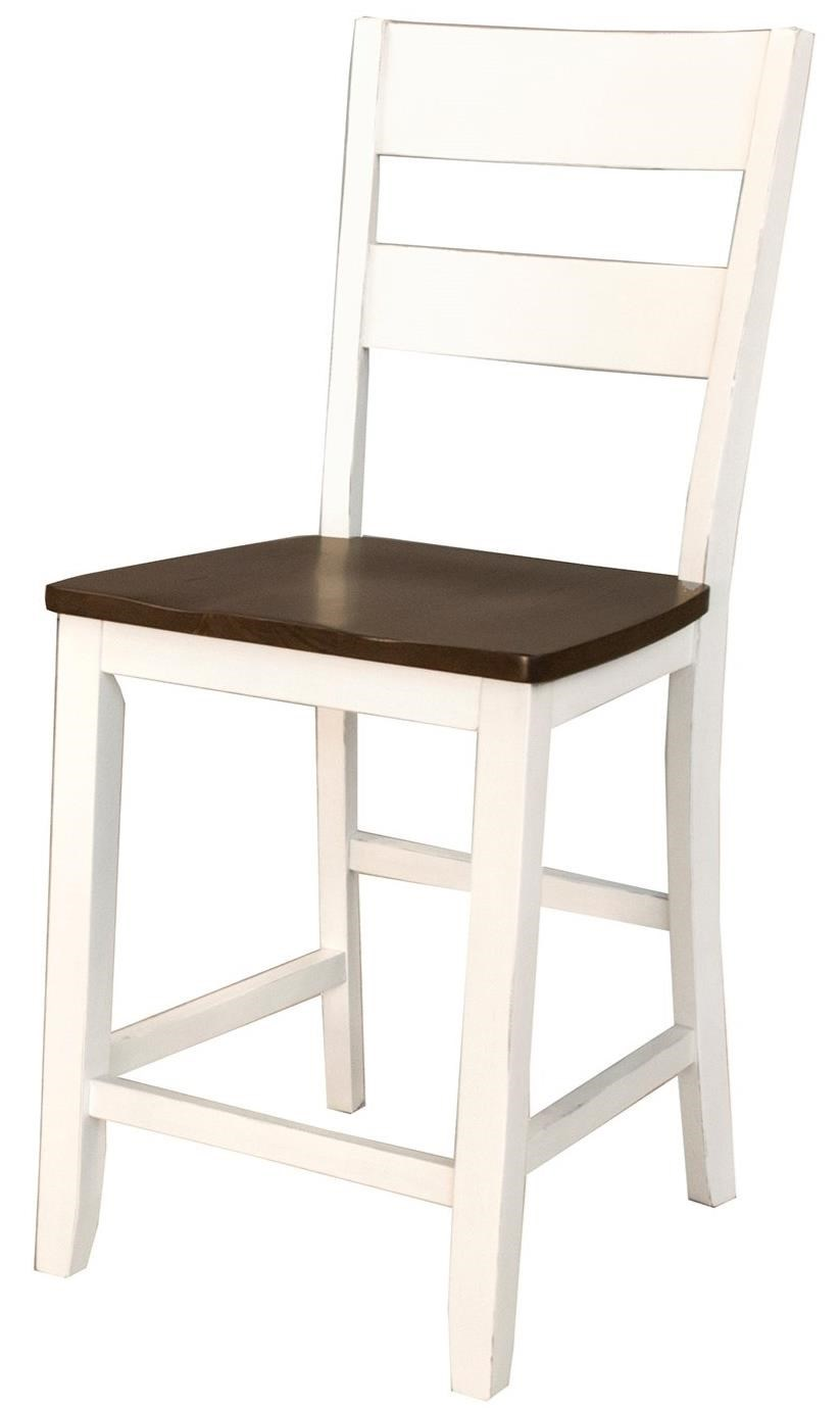 Mariposa Ladderback Stool by A-A at Walker's Furniture
