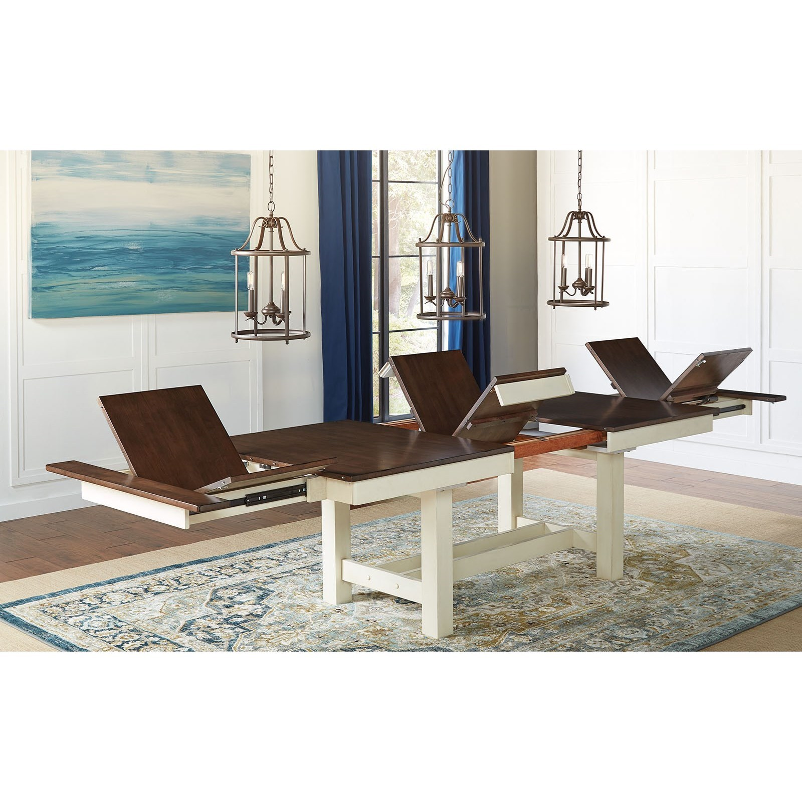 Mariposa Trestle Table by A-A at Walker's Furniture