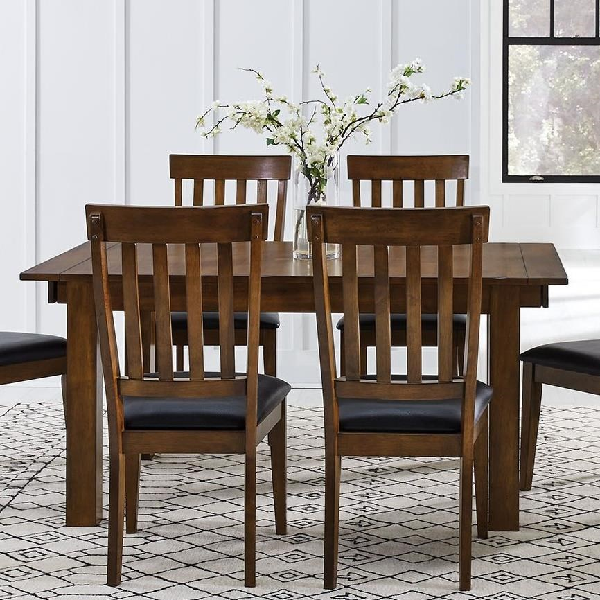 Mariposa 5 Piece Table and Chairs Set  by A-A at Walker's Furniture