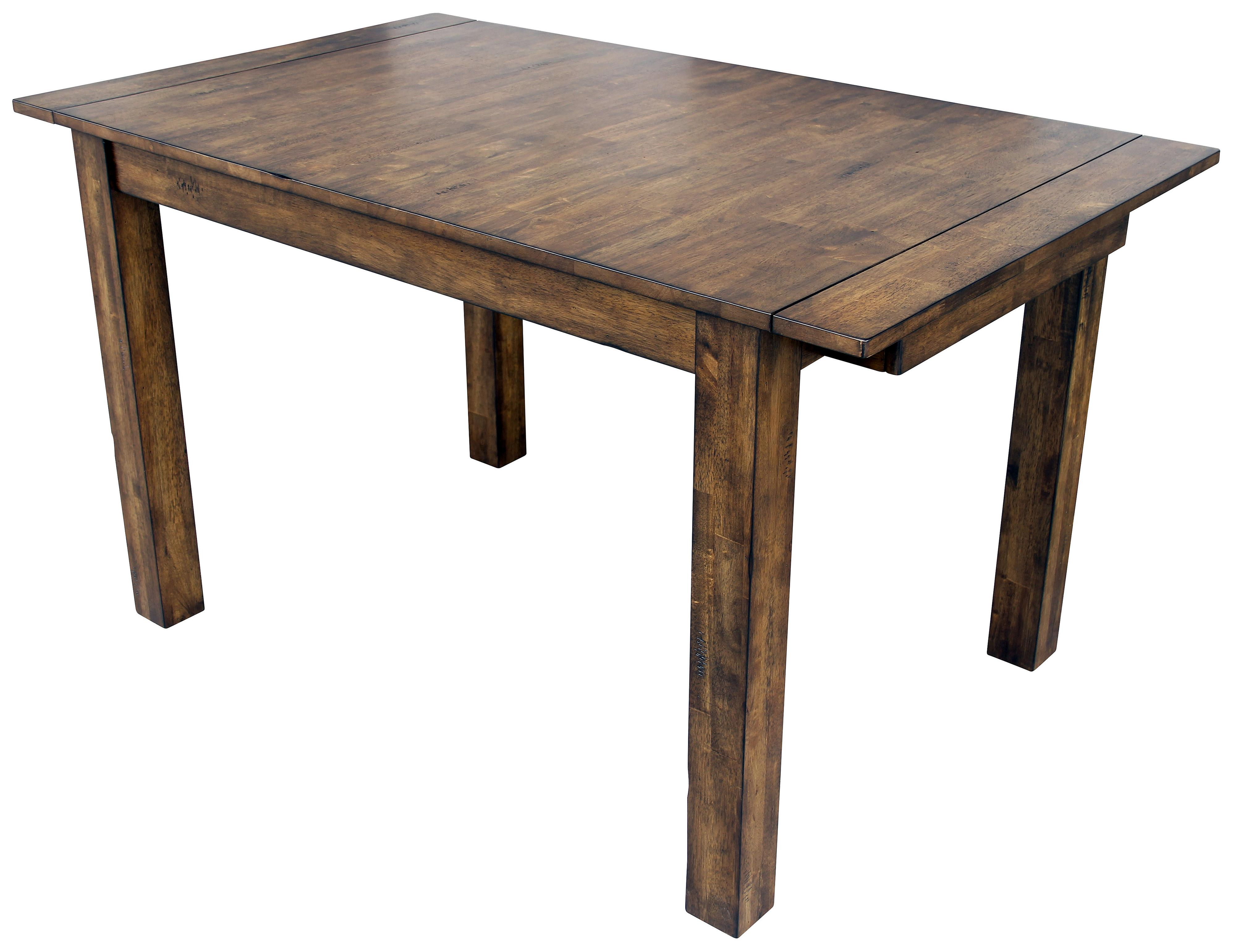 Mariposa Dining Leg Table by AAmerica at Darvin Furniture