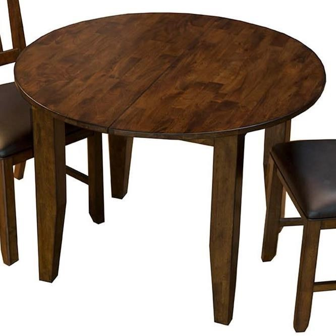 Mason Oval Leg Table with Leaf by AAmerica at SuperStore