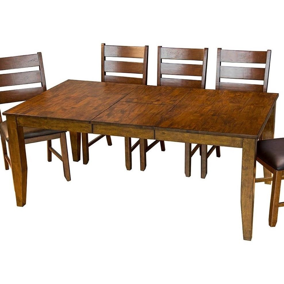 Rectangular Butterfly Leaf Table