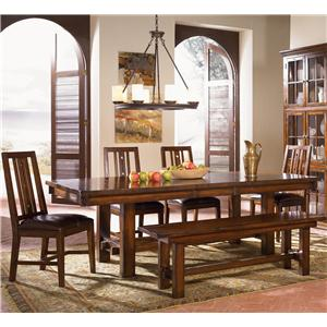 AAmerica Mesa Rustica Table & Chair Set