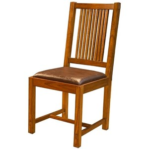 AAmerica Mission Hill Slatback Side Chair