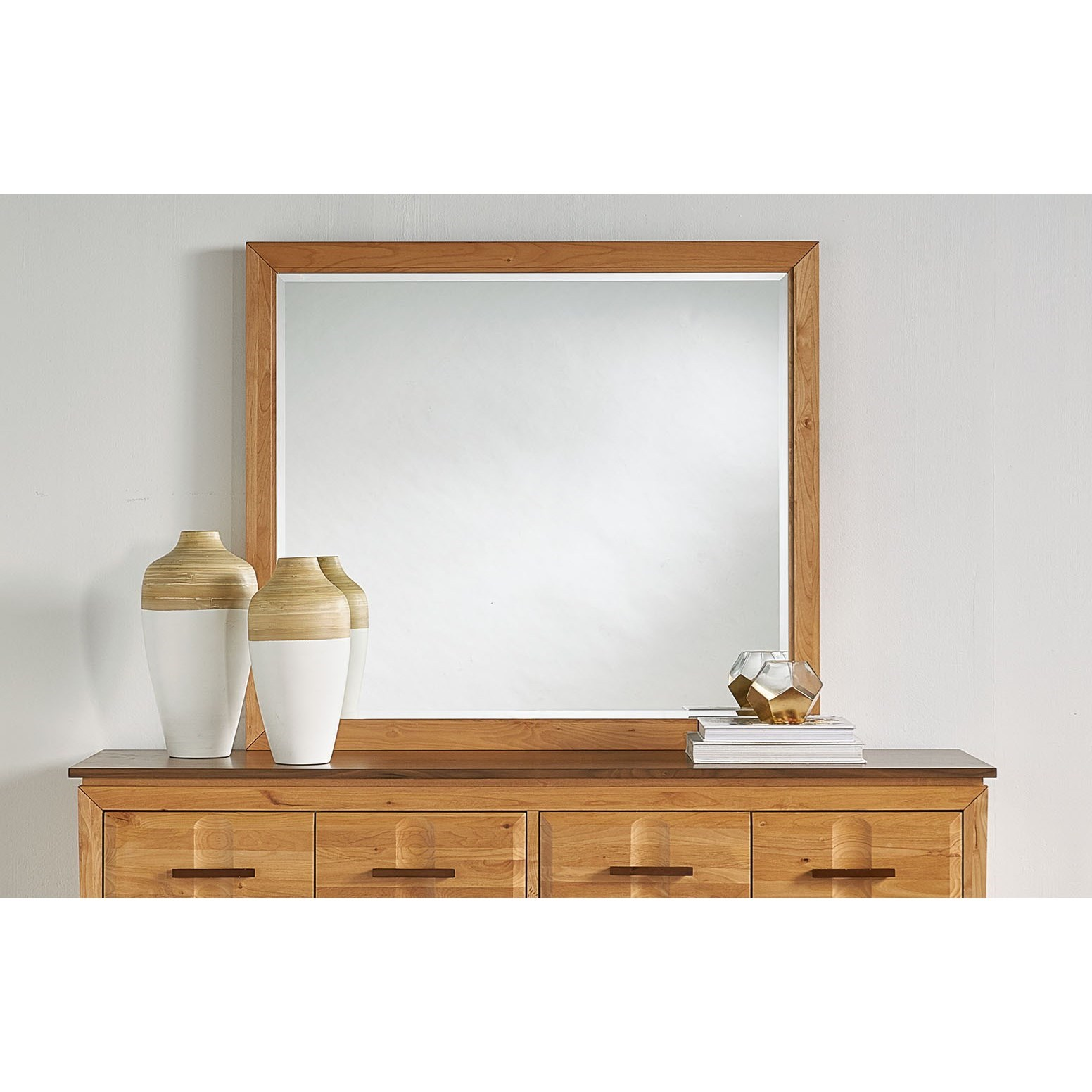 Modway Landscape Mirror  by A-A at Walker's Furniture