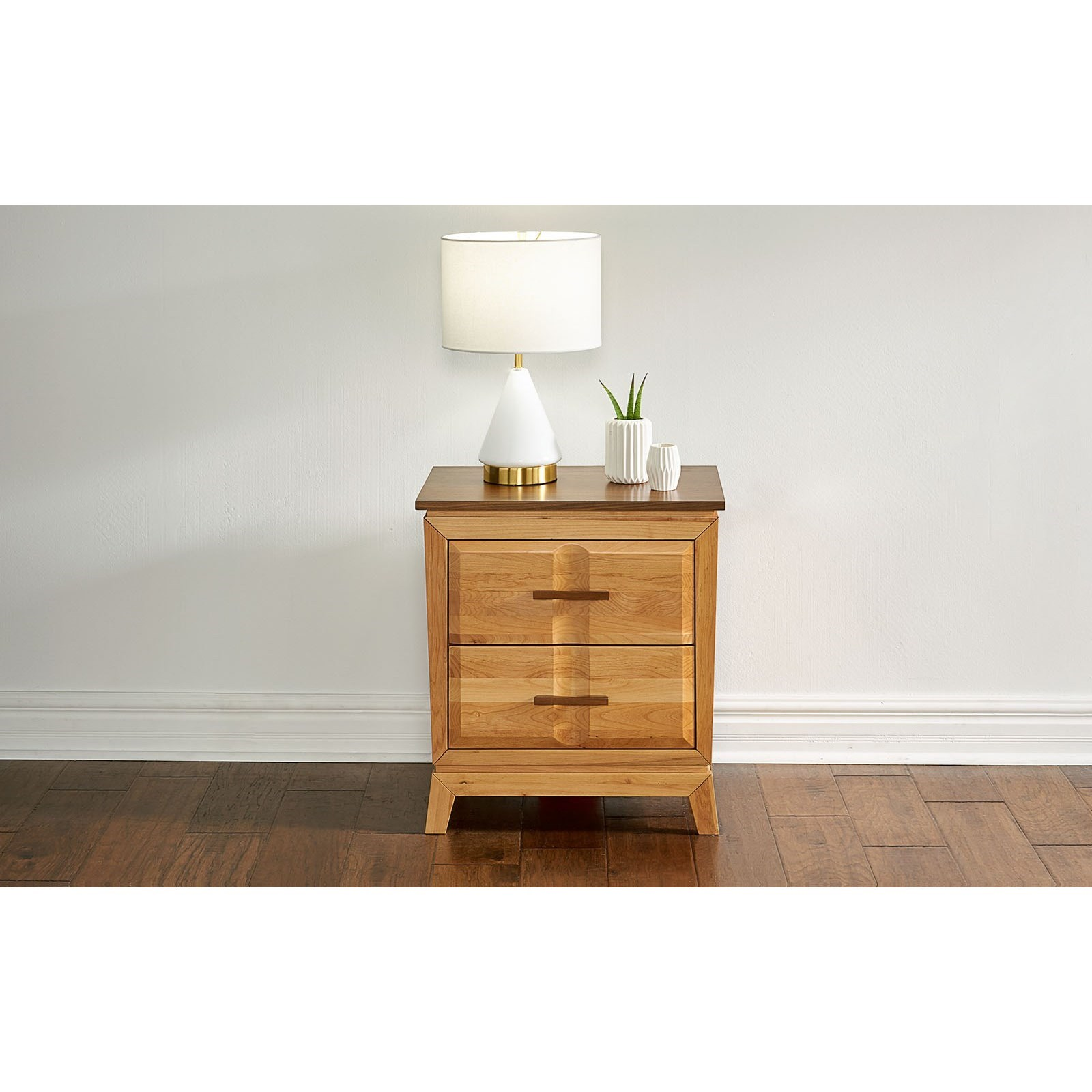 Modway Nightstand with USB Port  by A-A at Walker's Furniture