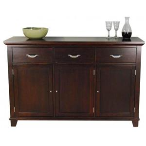 AAmerica Montreal Wide Wood Top Server