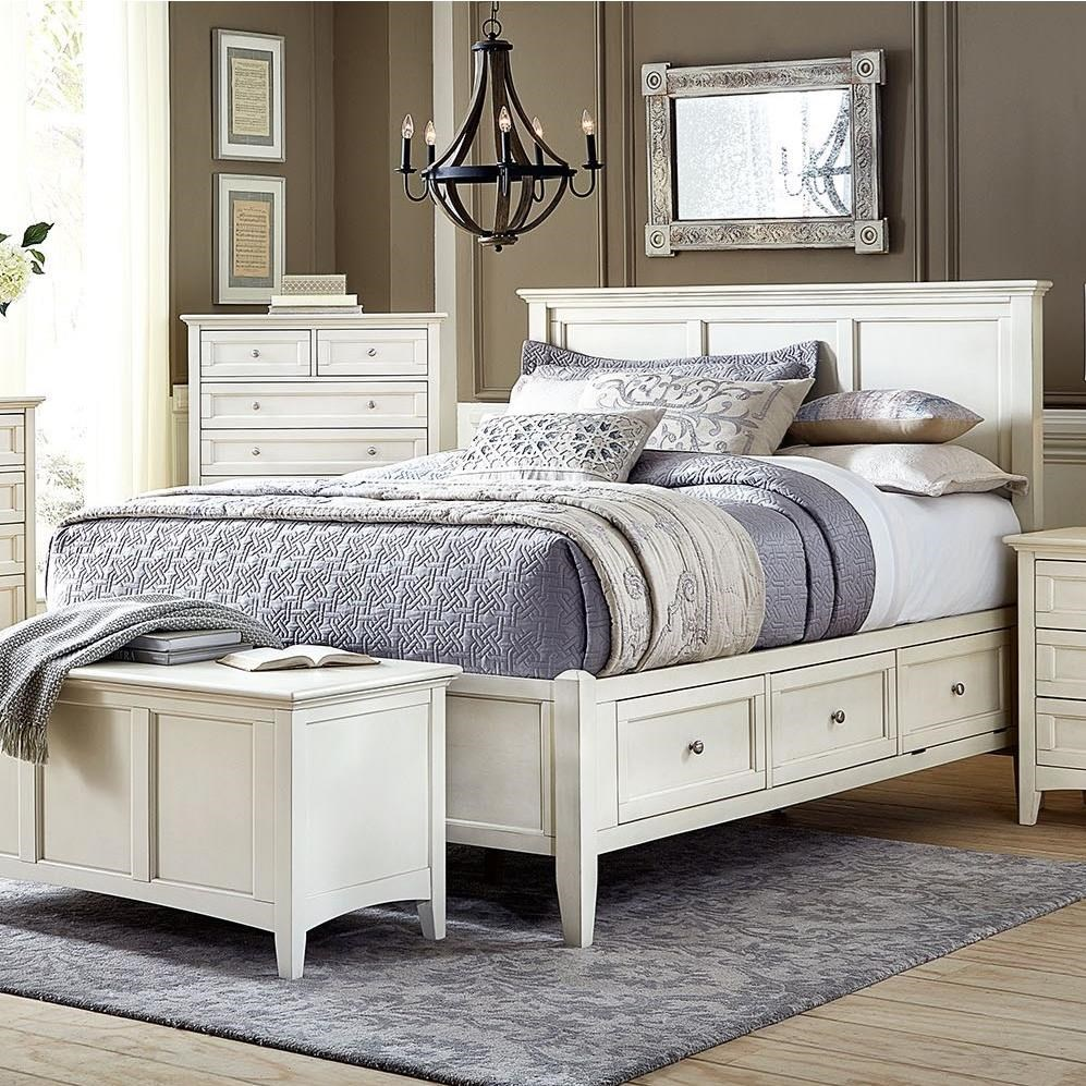 Northlake King Storage Bed by A-A at Walker's Furniture