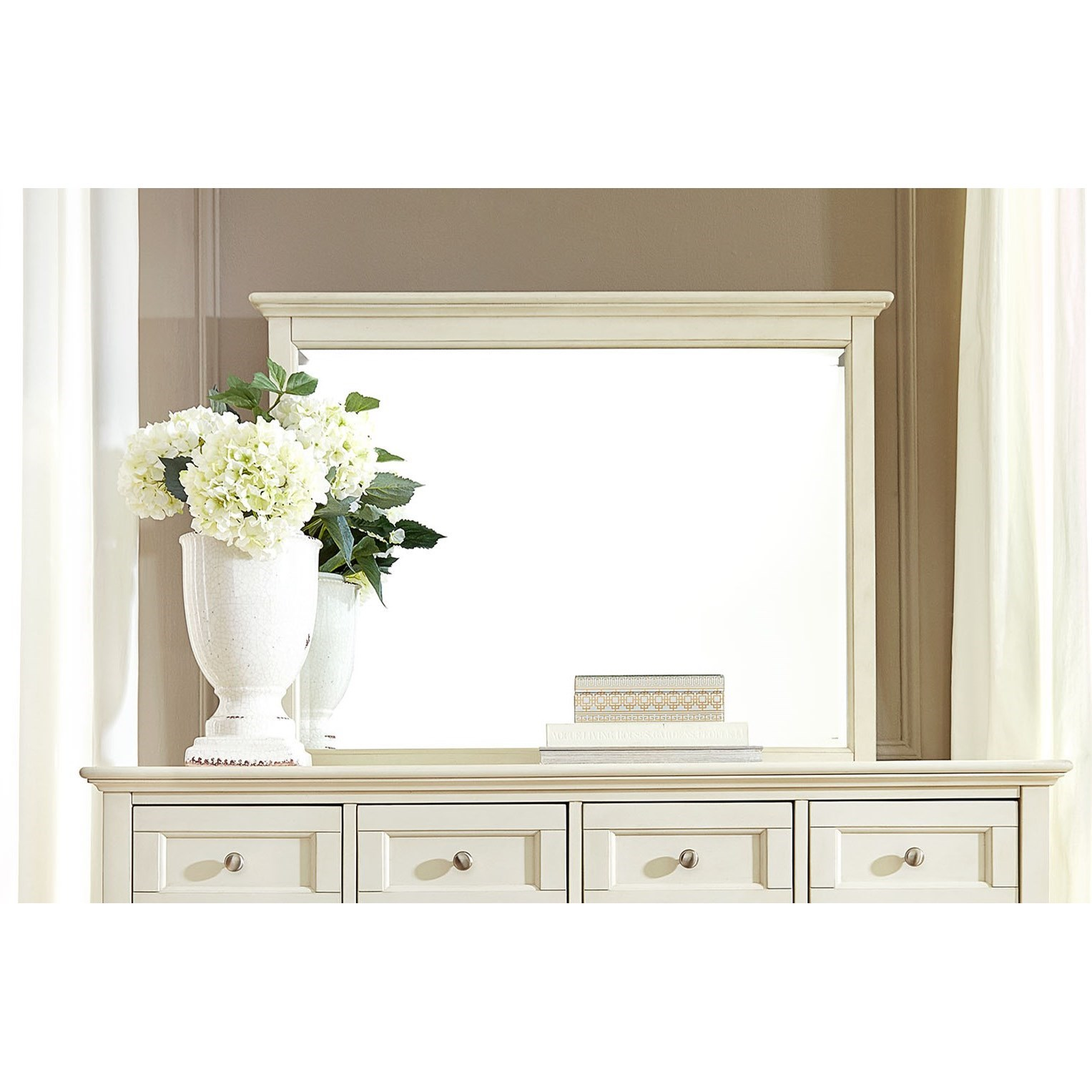 Northlake Master Mirror by A-A at Walker's Furniture