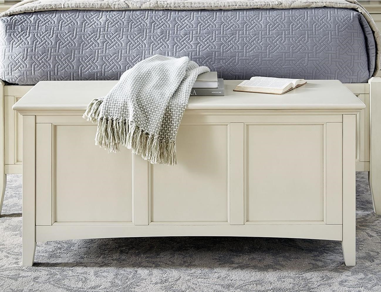 Northlake Cedar Lined Blanket Trunk by A-A at Walker's Furniture