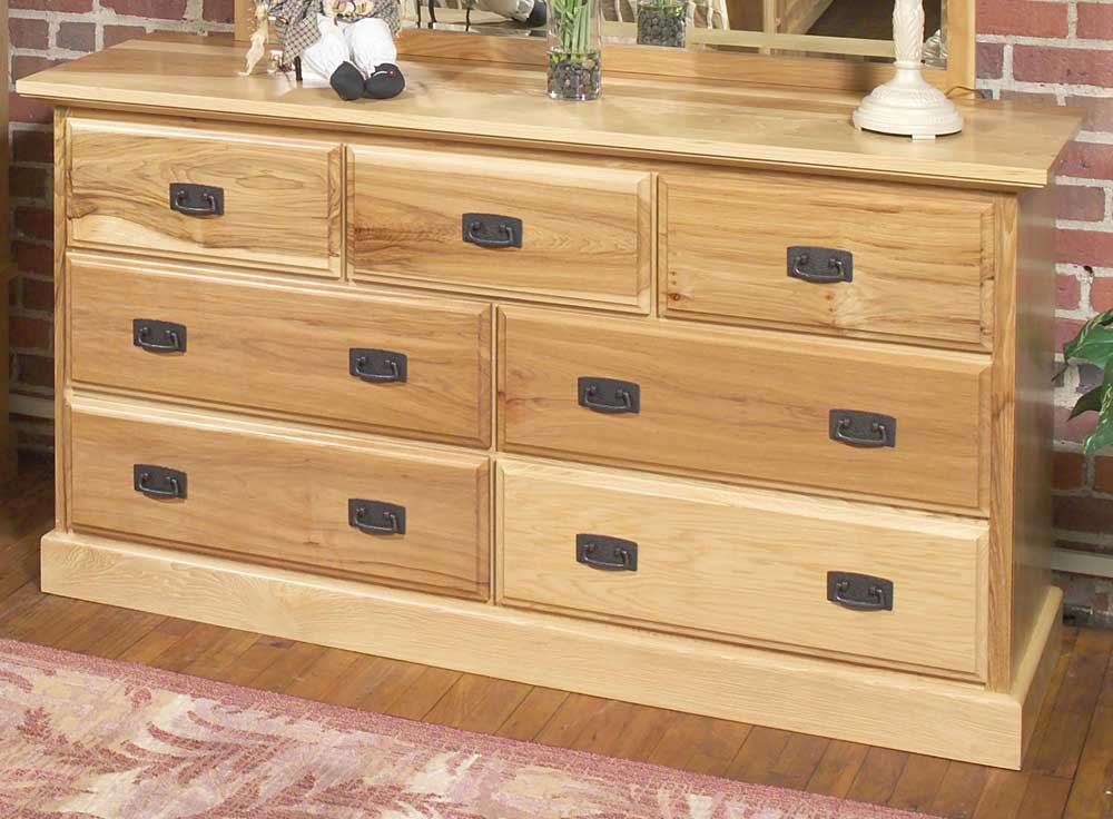 Amish Highlands Dresser by AAmerica at Furniture and ApplianceMart
