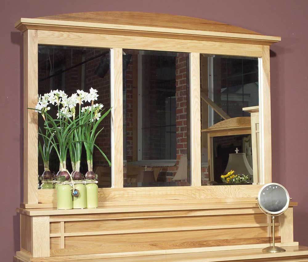 Amish Highlands Dressing Mirror by AAmerica at Van Hill Furniture