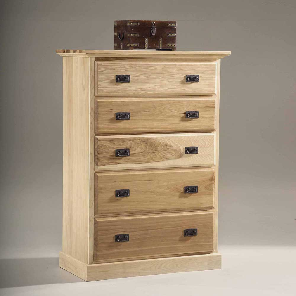 Amish Highlands 5 Drawer Chest by A-A at Walker's Furniture