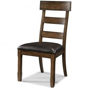 Plank Side Chair with Arrow Feet