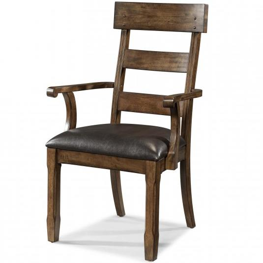 Ozark Plank Arm Chair by A-A at Walker's Furniture