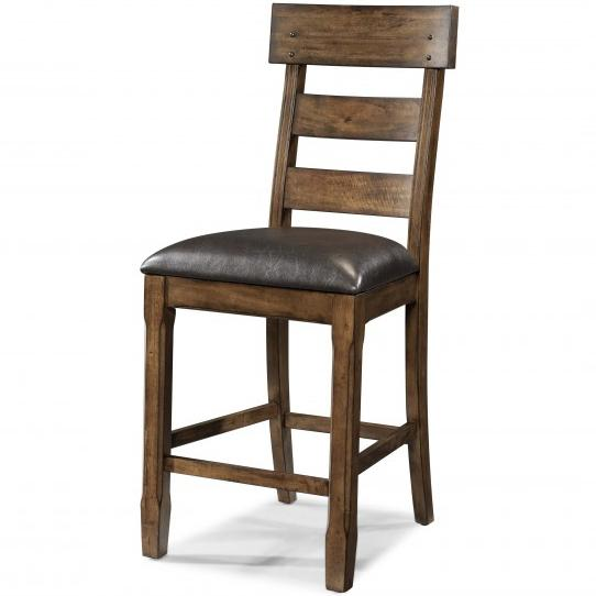 Ozark Plank Stool by A-A at Walker's Furniture