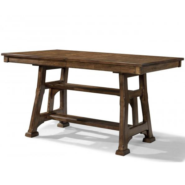 Ozark Gathering Height Trestle Table by A-A at Walker's Furniture