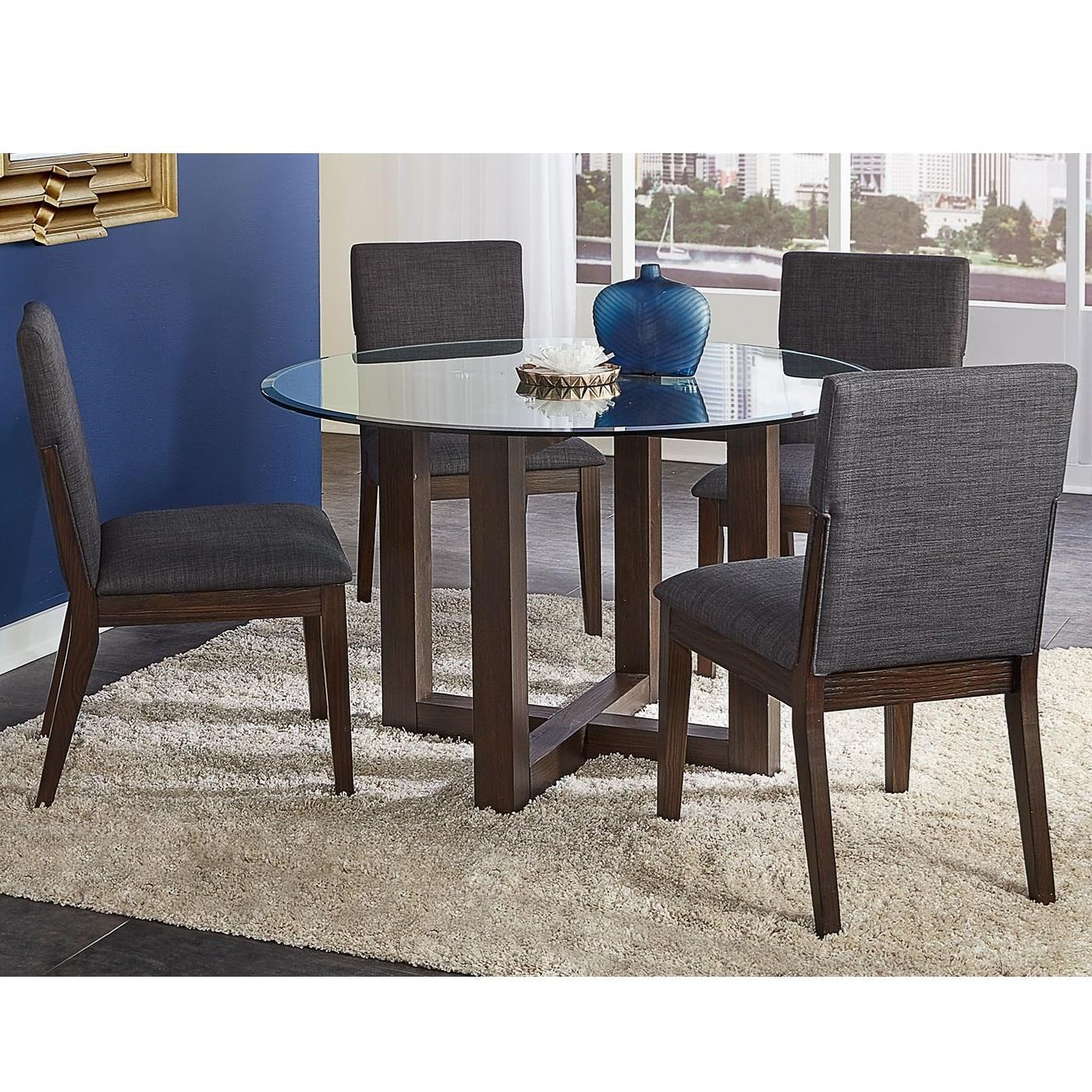 Palm Canyon 5-Piece Table and Chair Set by A-A at Walker's Furniture