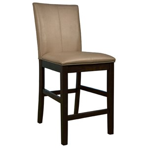 Bar Stool with Curved Back