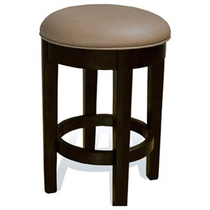 24 Inch Bar Stool with Swivel Seat