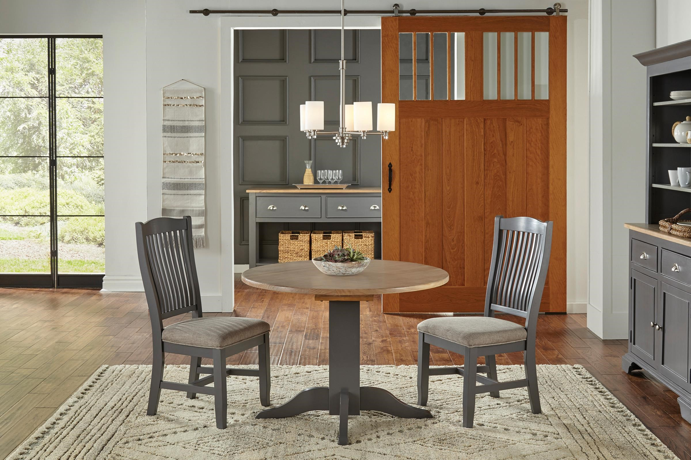 Port Townsend 42 Inch Table with 2 Chairs by AAmerica at Johnny Janosik