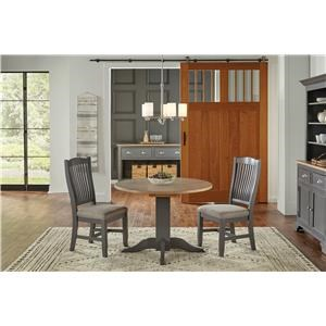 42 Inch Table with 2 Chairs