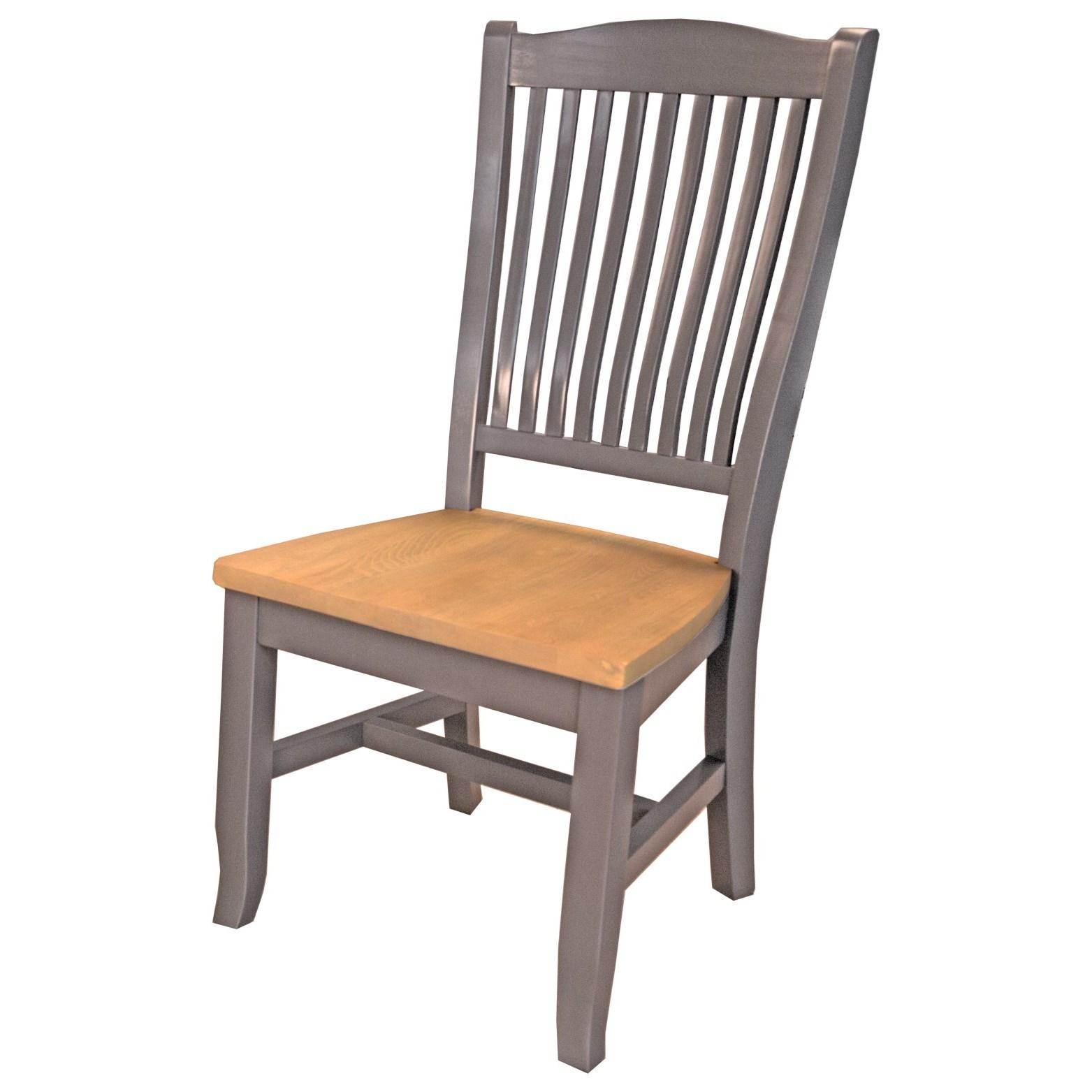 Port Townsend Slatback Side Chair by AAmerica at Dinette Depot