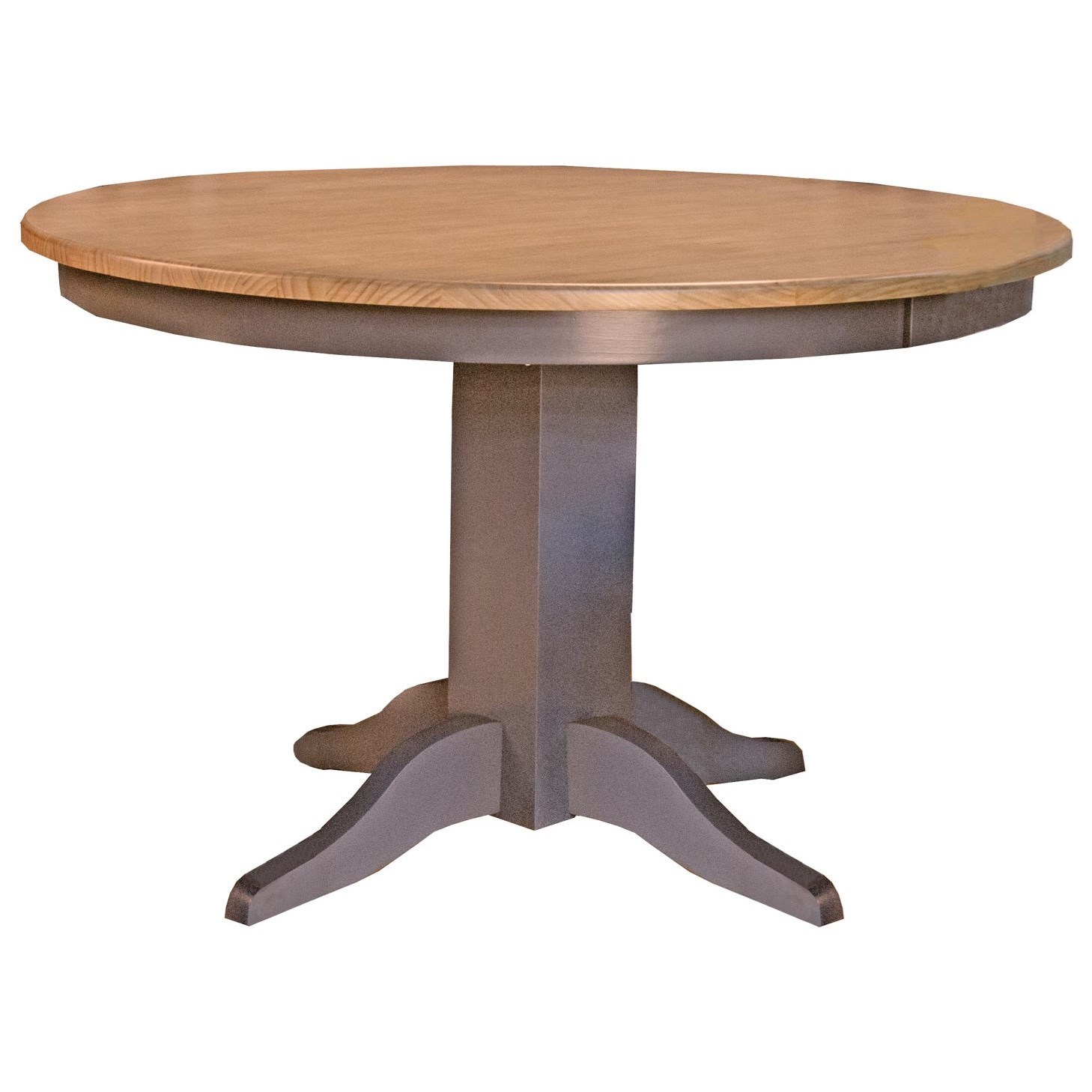 "Port Townsend 48"" Round Table by A-A at Walker's Furniture"