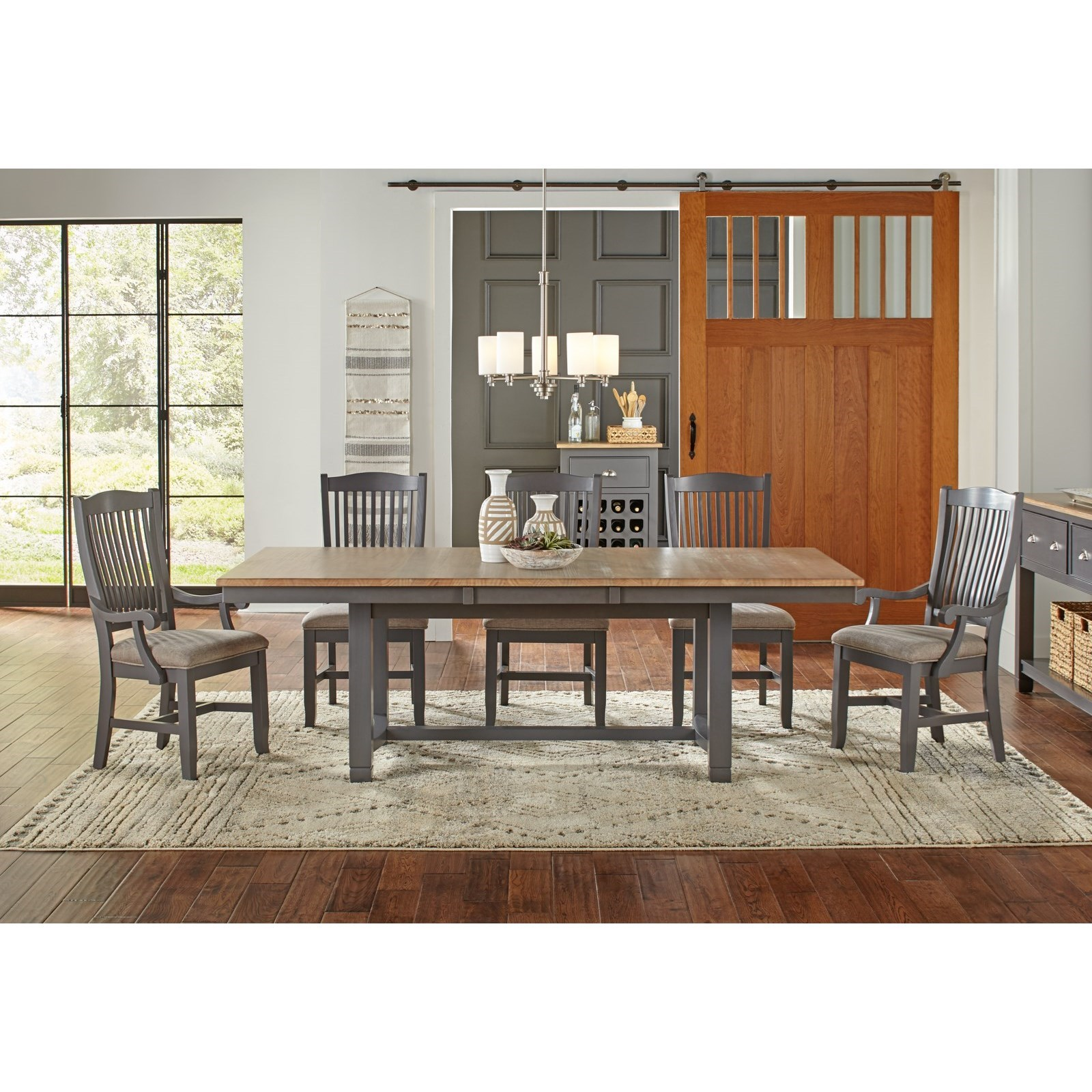 Port Townsend Trestle Table by AAmerica at Johnny Janosik