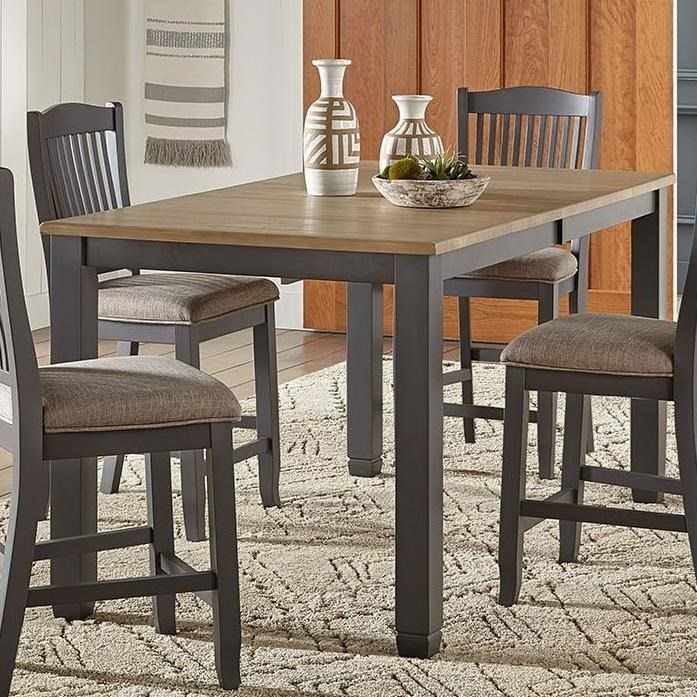 Port Townsend Gathering Height Leg Table by AAmerica at Dinette Depot