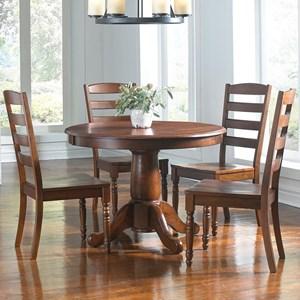 AAmerica Roanoke 5 Piece Dining Set