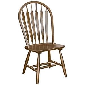 AAmerica Roanoke Arrowback Side Chair