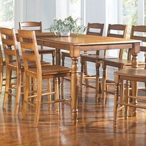 AAmerica Roanoke Counter Height Leg Table