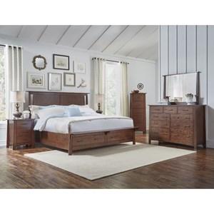 Queen Panel Storage Bedroom Group