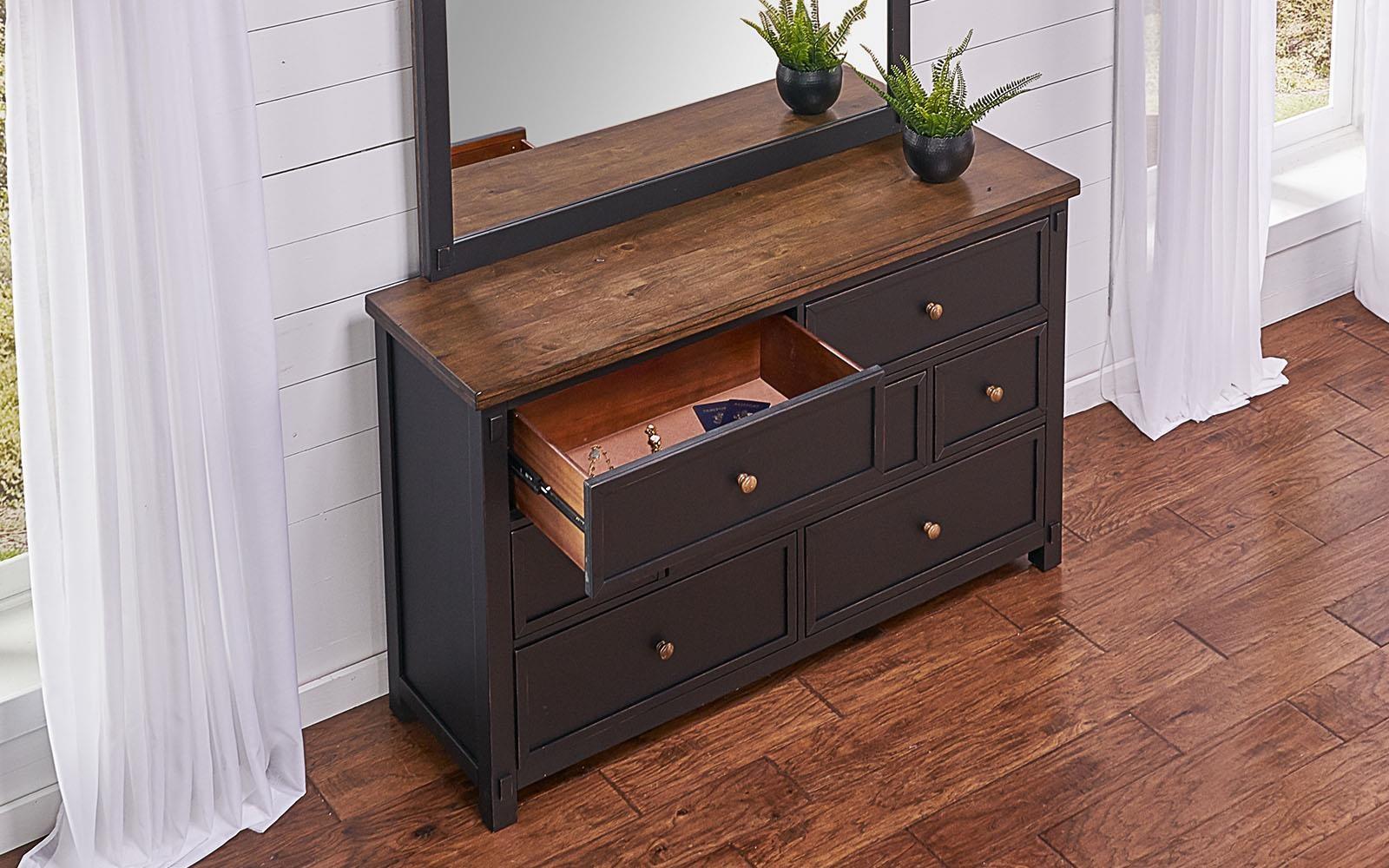 Stormy Ridge Dresser by AAmerica at VanDrie Home Furnishings