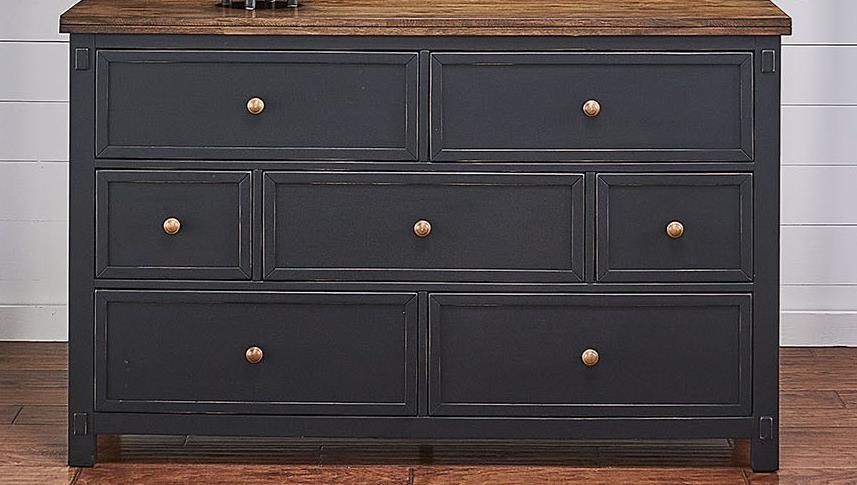 Stormy Ridge 7-Drawer Dresser by AAmerica at Darvin Furniture