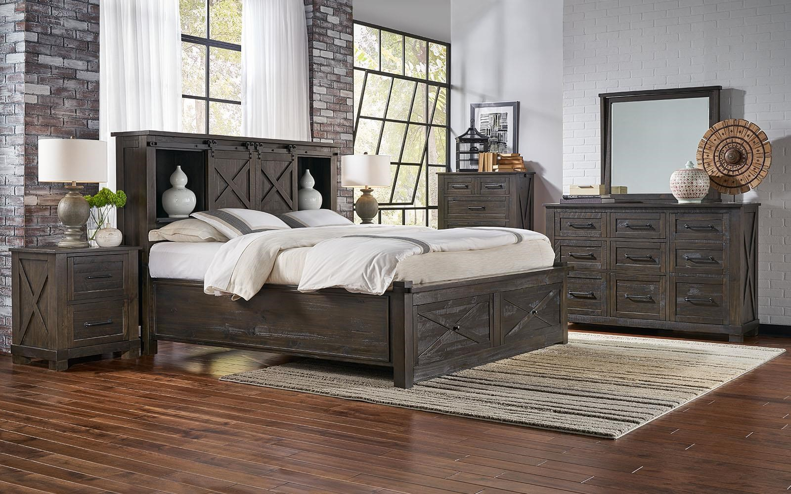 Sun Valley 4-Piece King Bedroom Set at Ruby Gordon Home