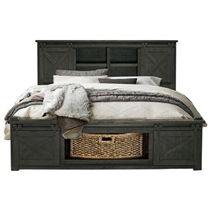 Queen Size Rotating Storage Bed