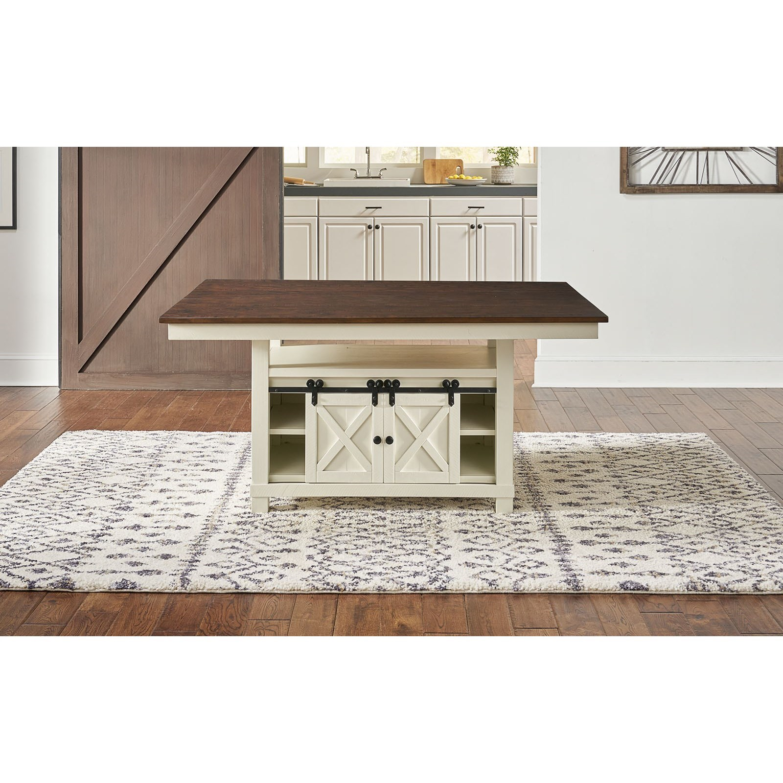 Sun Valley  Convertible Height Storage Table  by A-A at Walker's Furniture