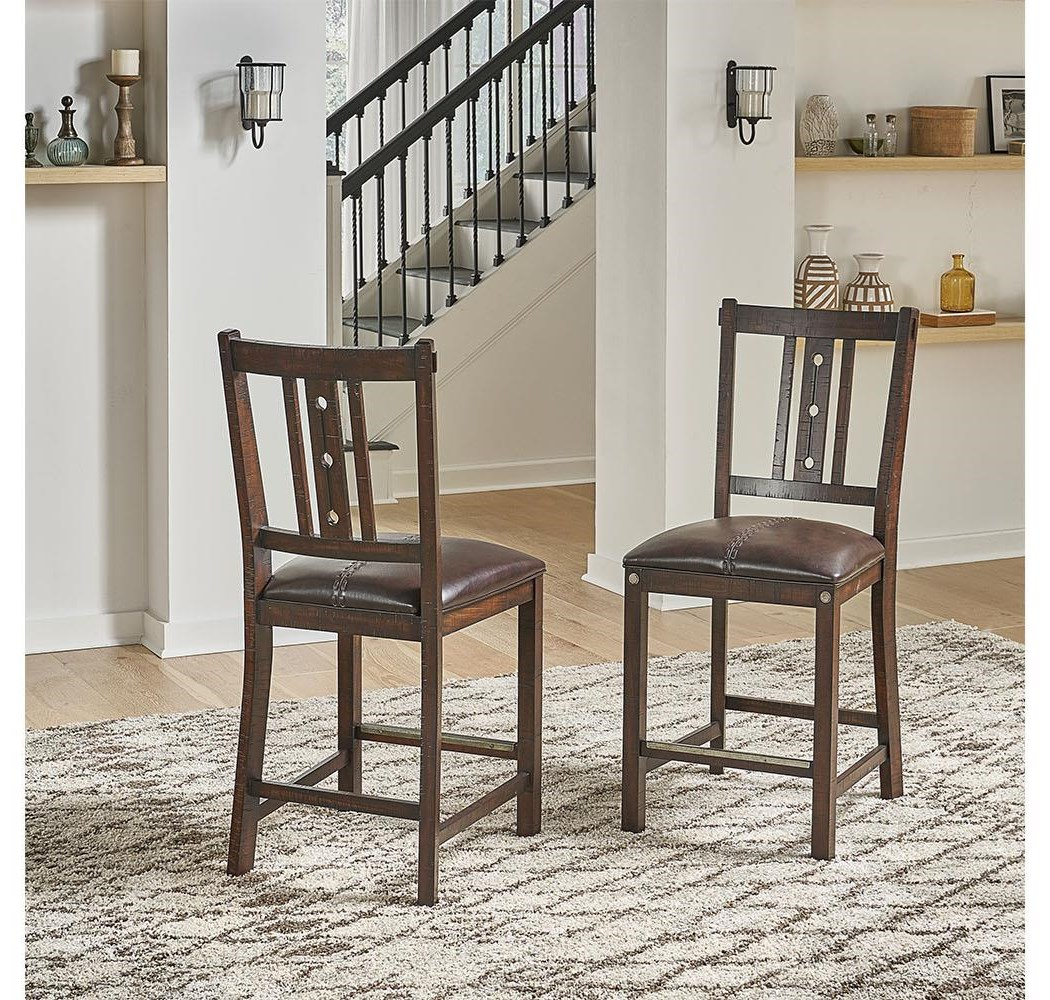 Medina counter height bar stool by A-A at Walker's Furniture