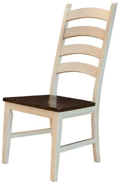 Toluca Ladderback Side Chair by A-A at Walker's Furniture