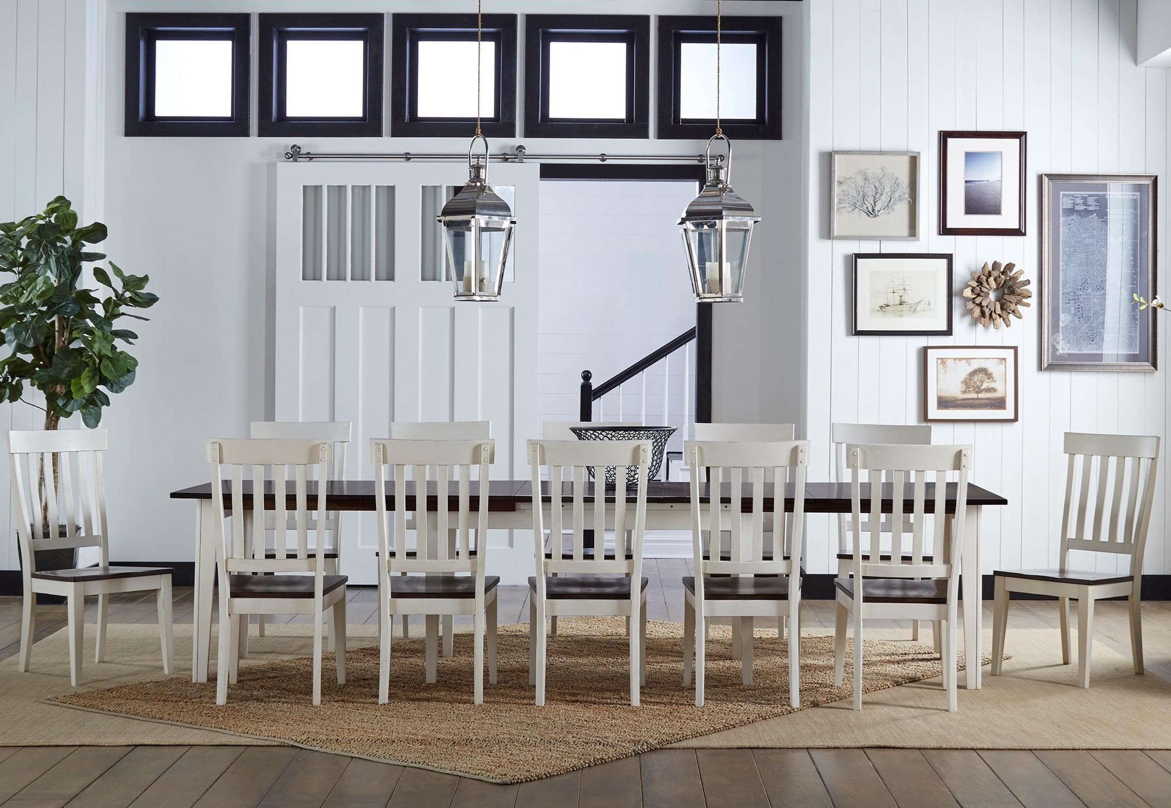 Toluca 13 Piece Dining Set by A-A at Walker's Furniture