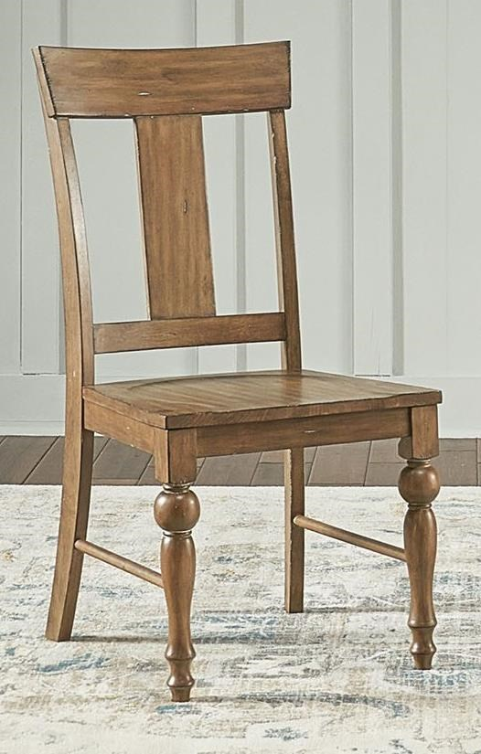 Wellington T-Back Dining Chair  by A-A at Walker's Furniture
