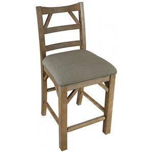 AAmerica West Valley Ladder Back Stool