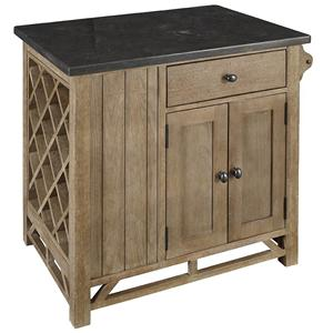 AAmerica West Valley Chef's Kitchen Island