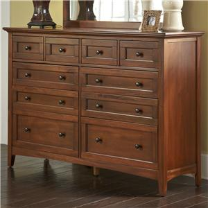 Mule Chest Dresser w/ Felt Lined Top Drawers