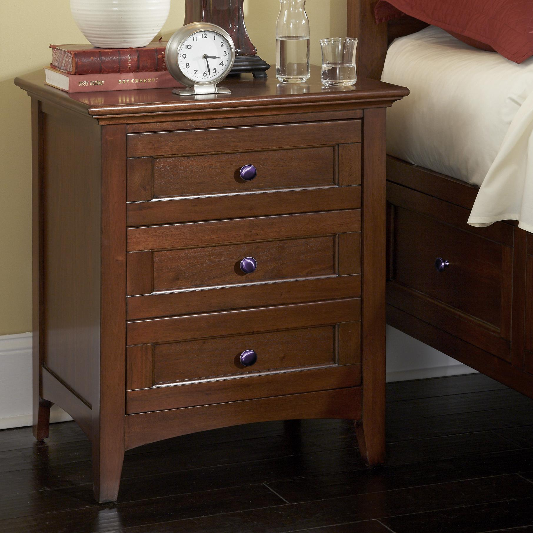 Westlake Night Stand by AAmerica at Furniture and ApplianceMart
